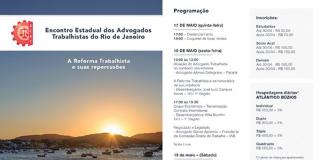 Encontro dos Advogados Trabalhistas do Rio de Janeiro