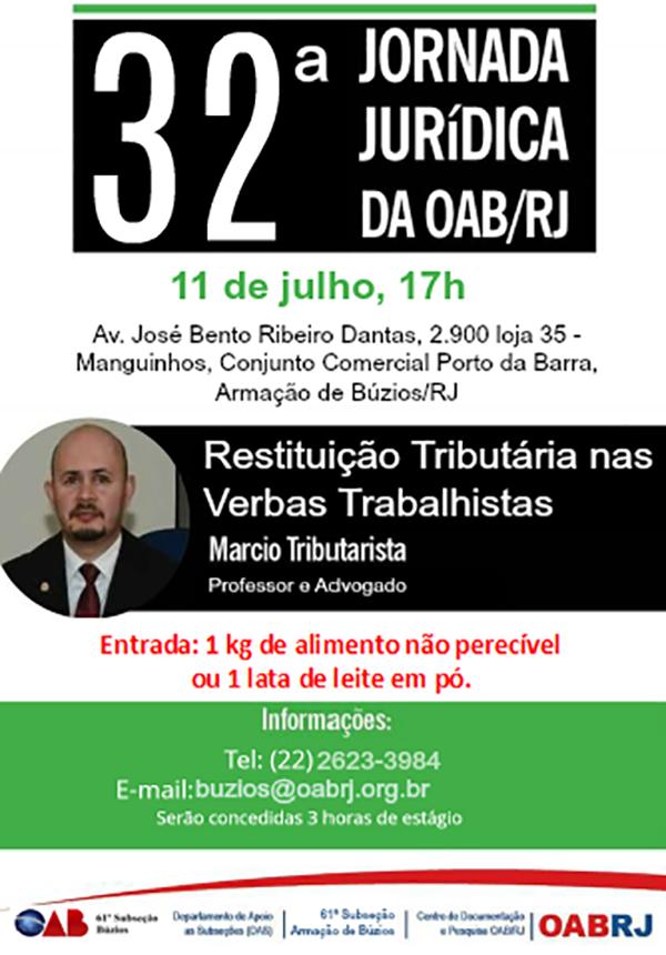 32ª Jornada Jurídica da OAB/RJ